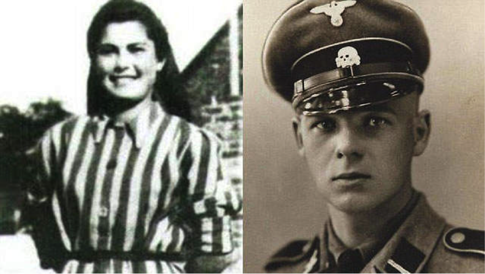 Helena Citronova (left) and Franz Wunsch (right) fell in love at Auschwitz.