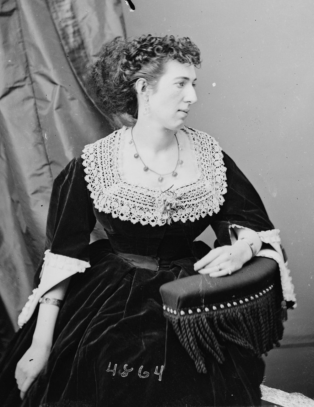 Belle Boyd, a Confederate civil war spy.