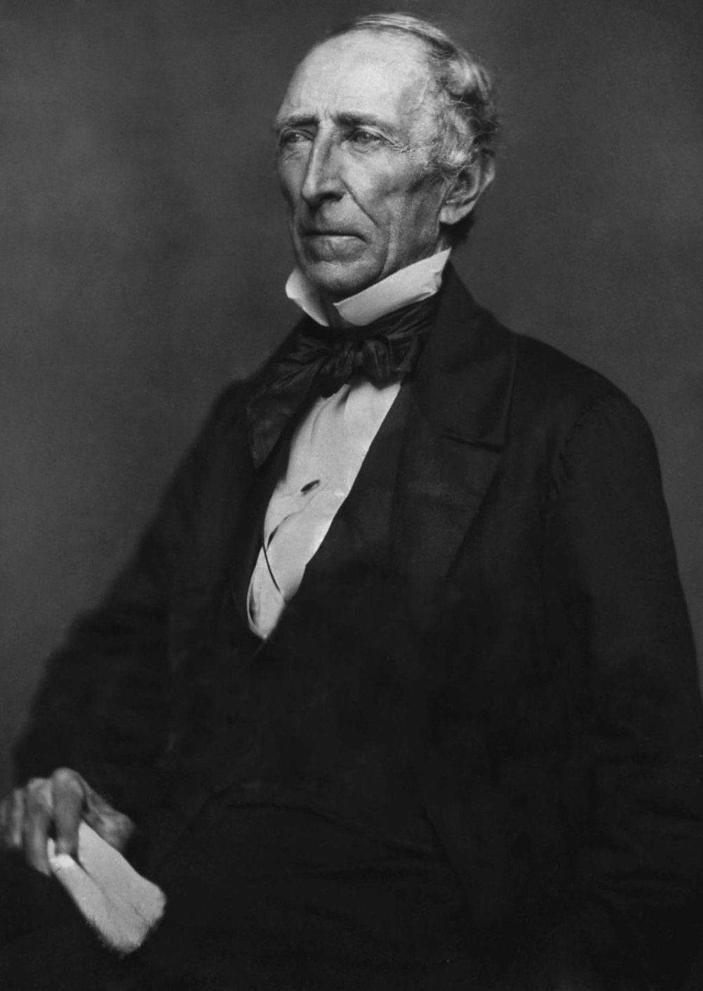 John Tyler in his later years.