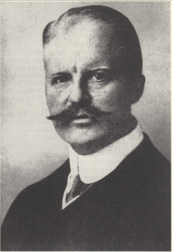 Arthur Zimmermann, German Foreign Minister, whom the telegram was named after.