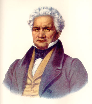 Major Ridge, a leader of the Cherokee in the nineteenth century who was to play a major role in ceding Cherokee lands to European-American settlers.