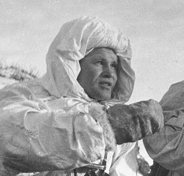 Vasily Zaitsev, a key Soviet sniper, in December 1942.