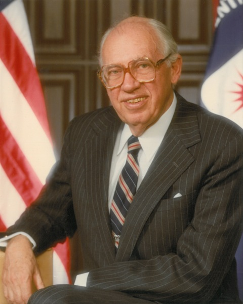 William Casey, CIA Director from 1981-1987.