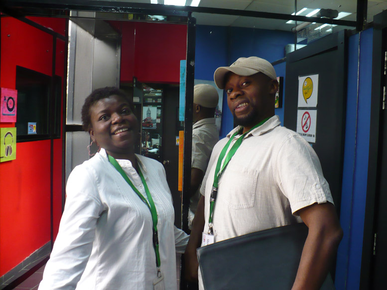 Me and Yop at Nigeria Info Radio.JPG