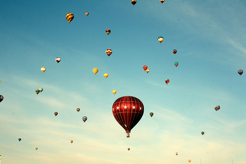 blinkanditsover :     2011 Albuquerque International Balloon Fiesta (by  mindwhisperings )