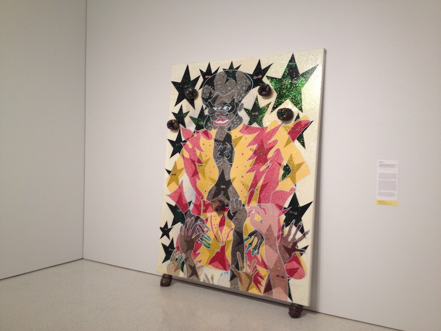 Chris Ofili - Adoration of Captain Shit... (1999)