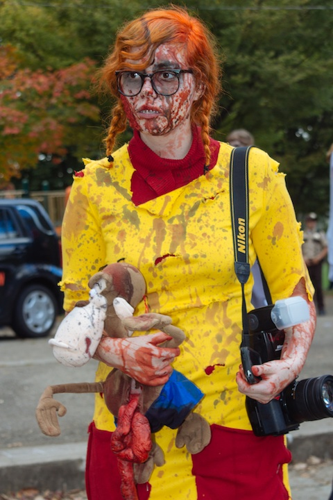 Zombie Eliza Thornberry