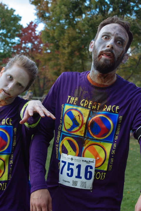 The Great Race Zombies