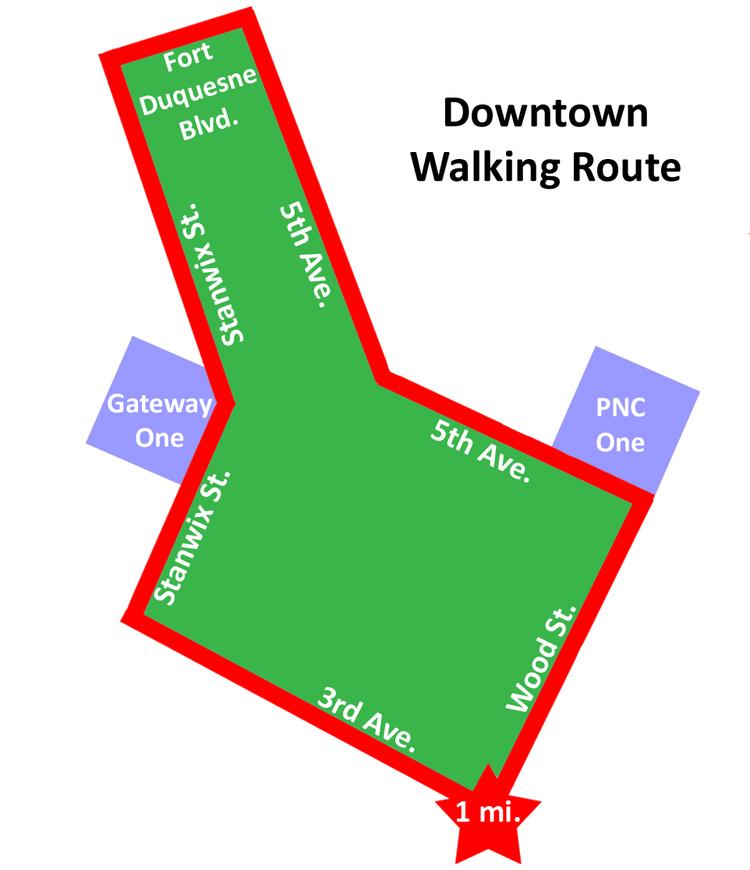 Walk Challenge Maps