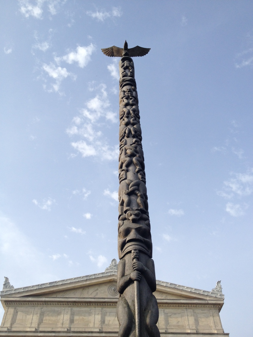 Totem in Front of the Field Museum