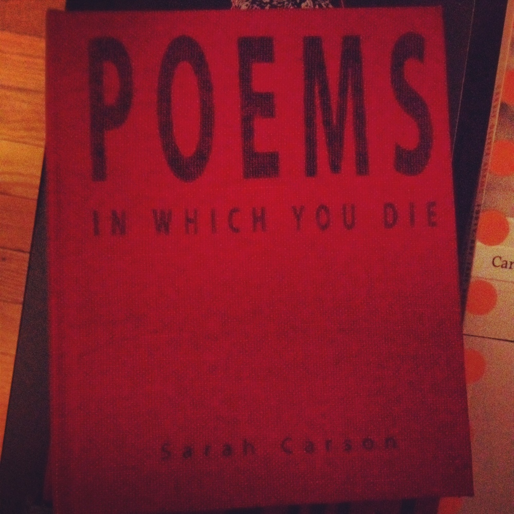 Poems in Which You Die