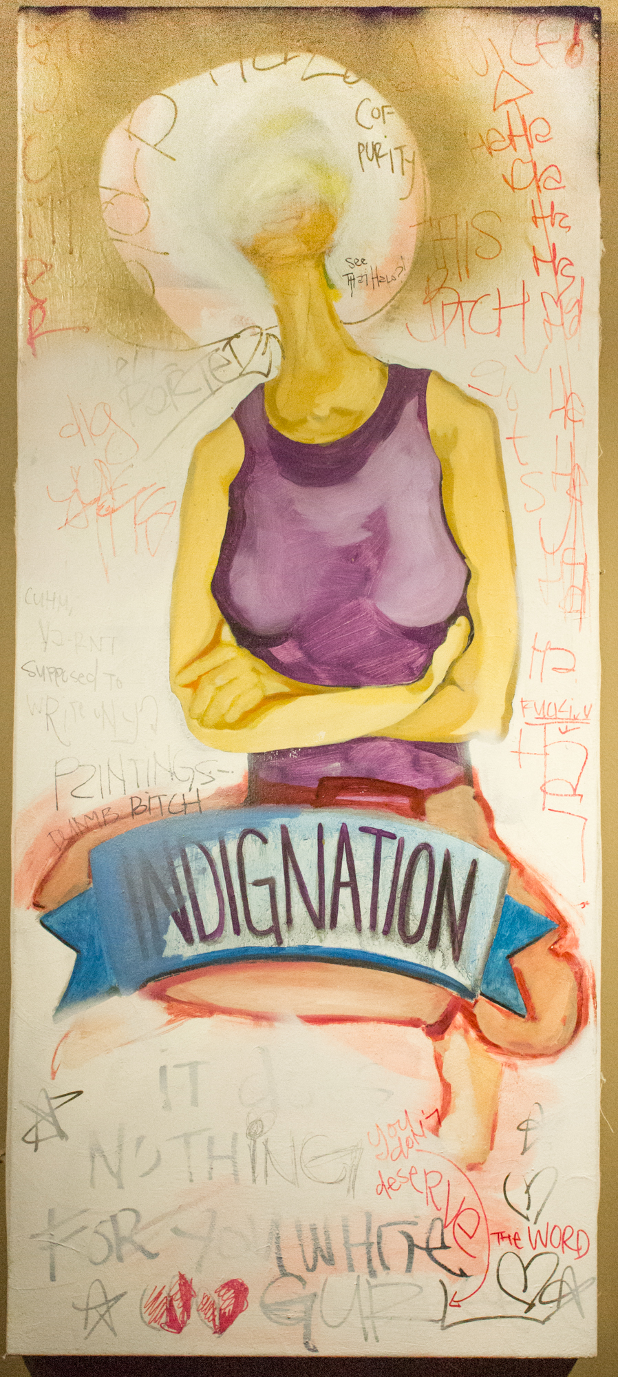 Indignation: It Does Nothing For You White Girl