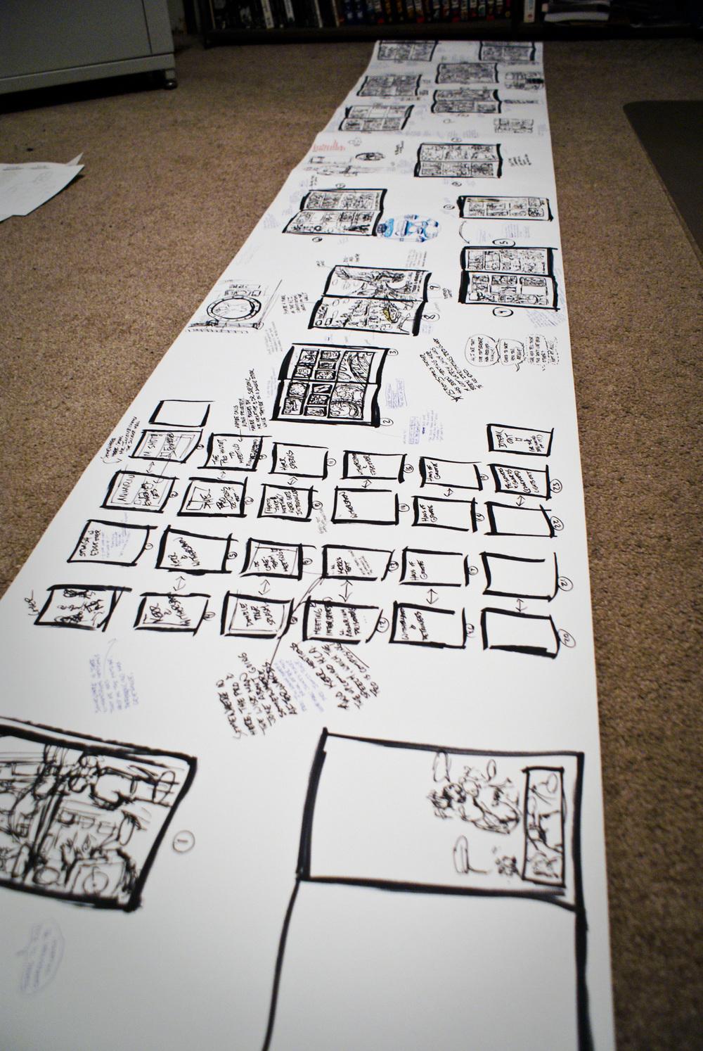 Storyboarding Scroll