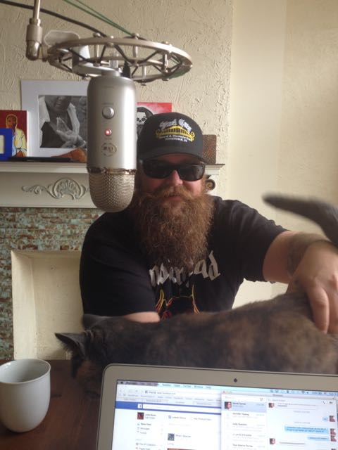 Doug Duerring w Decima the Cat