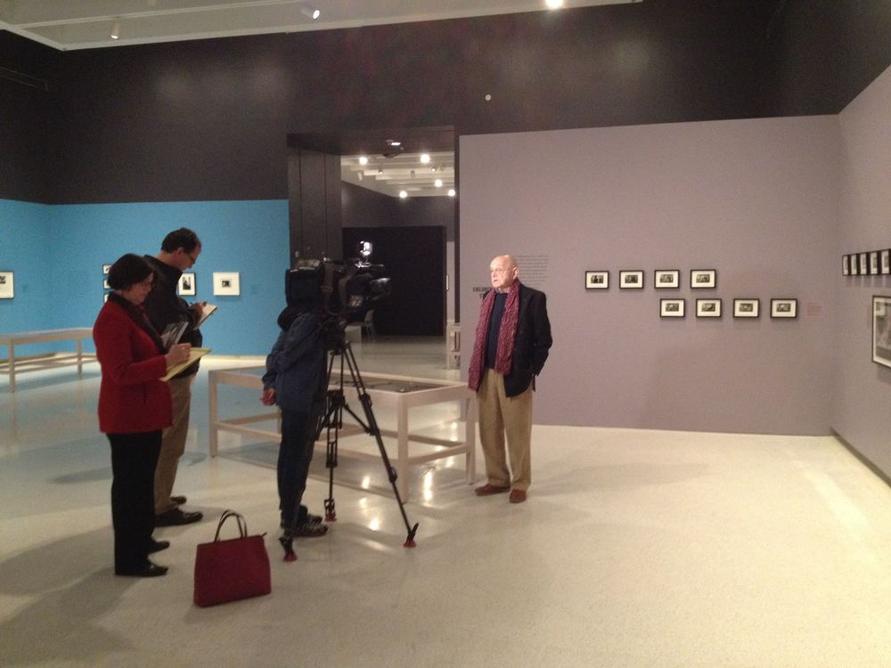 Press preview at CMOA of the Duane Michals' show: STORYTELLER