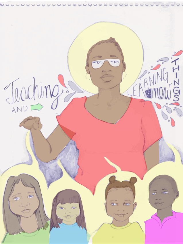Naomi Walker is Good at Teaching and Learning New Things