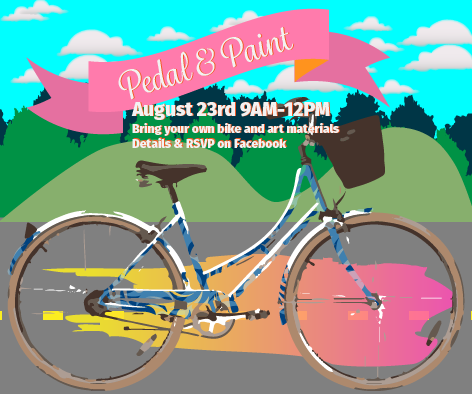 Pedal and Paint Graphic