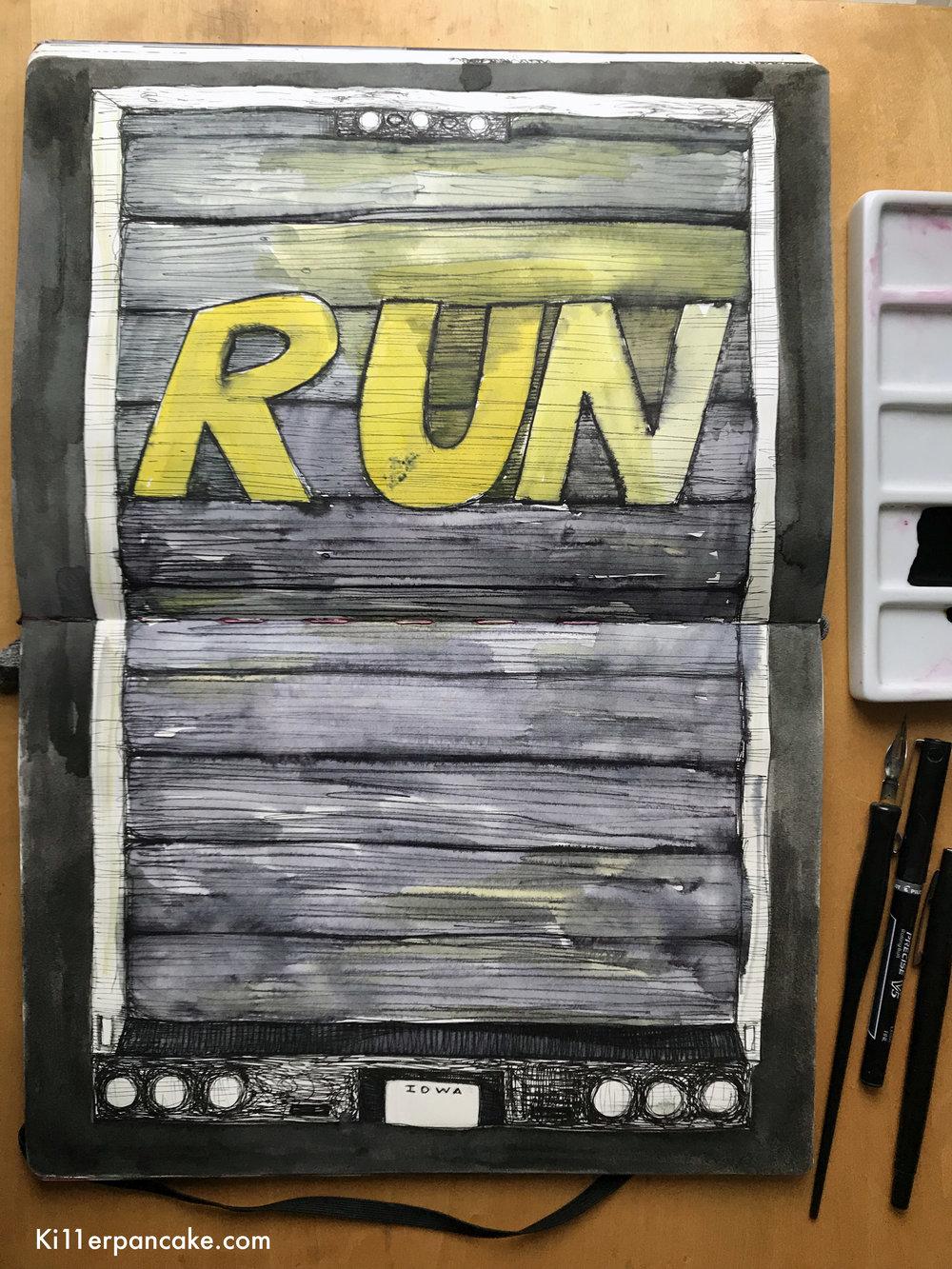 Day Eleven // Run