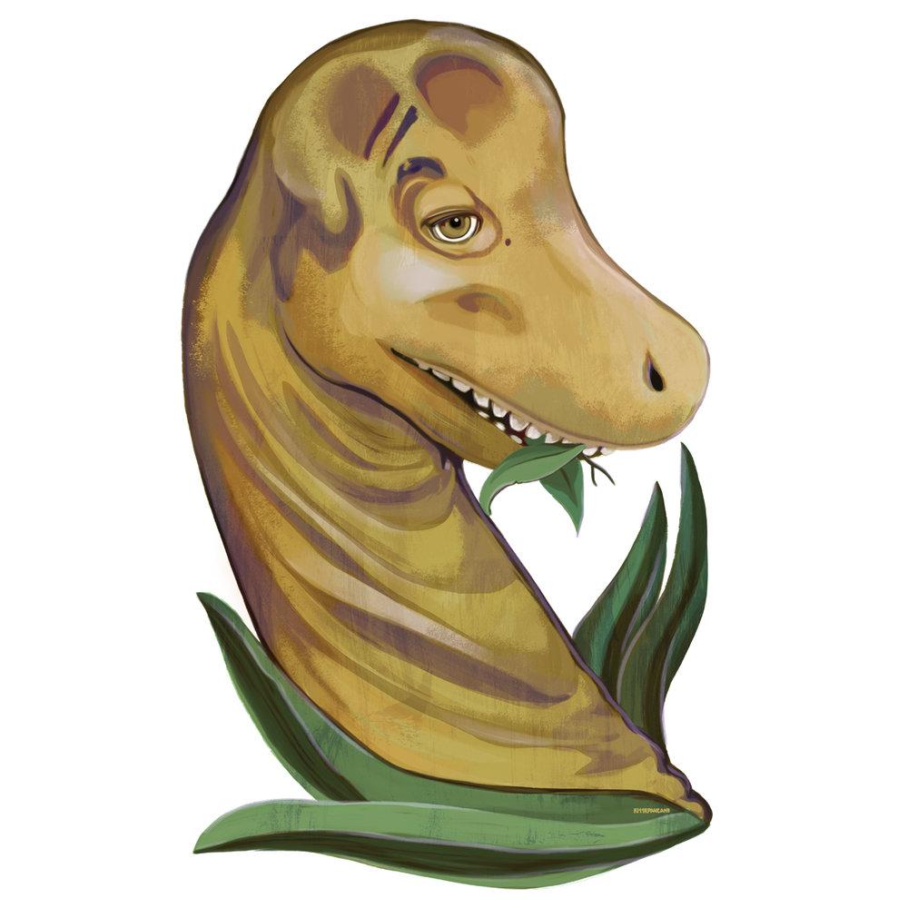 Diplodocus (Dippy the Dino)