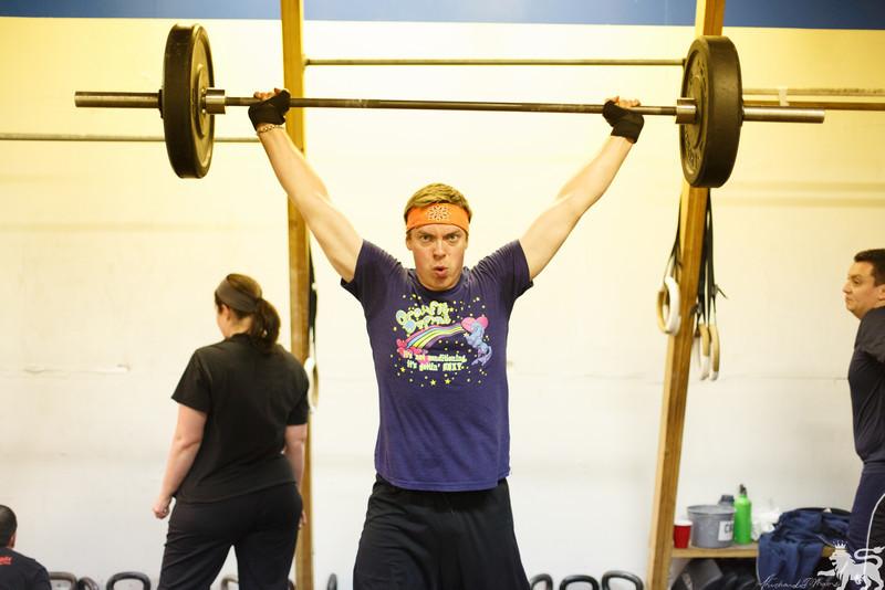 Robert 13.1 135 pound Snatch