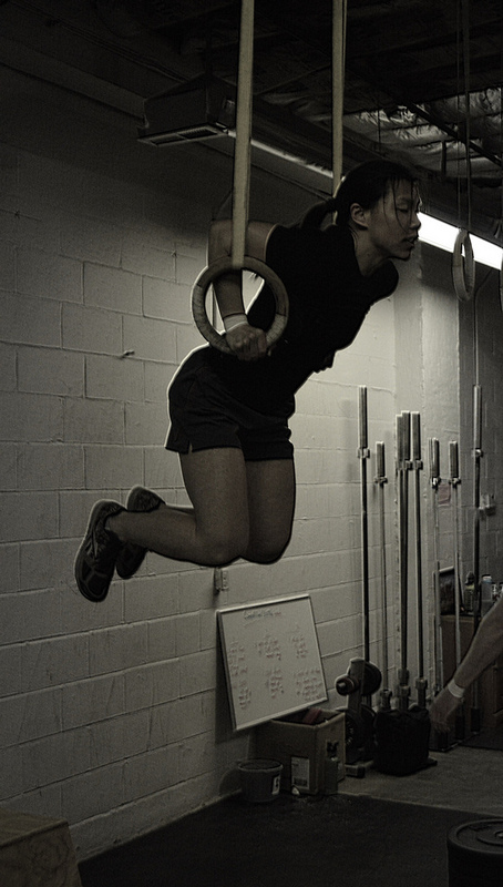 Megan 13.3 completed 16 muscle ups