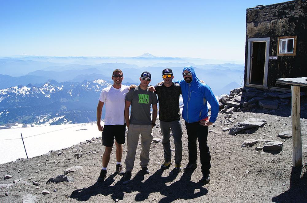 Jake, Chad, Dan and Brian T.