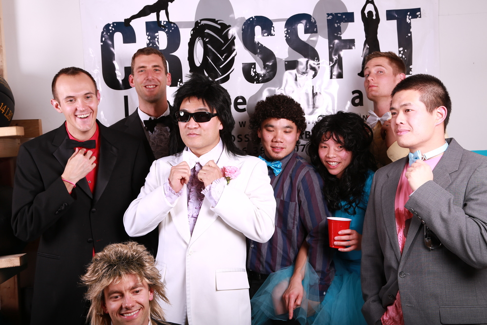 CFIB 2nd year anniversary party. 80s prom.