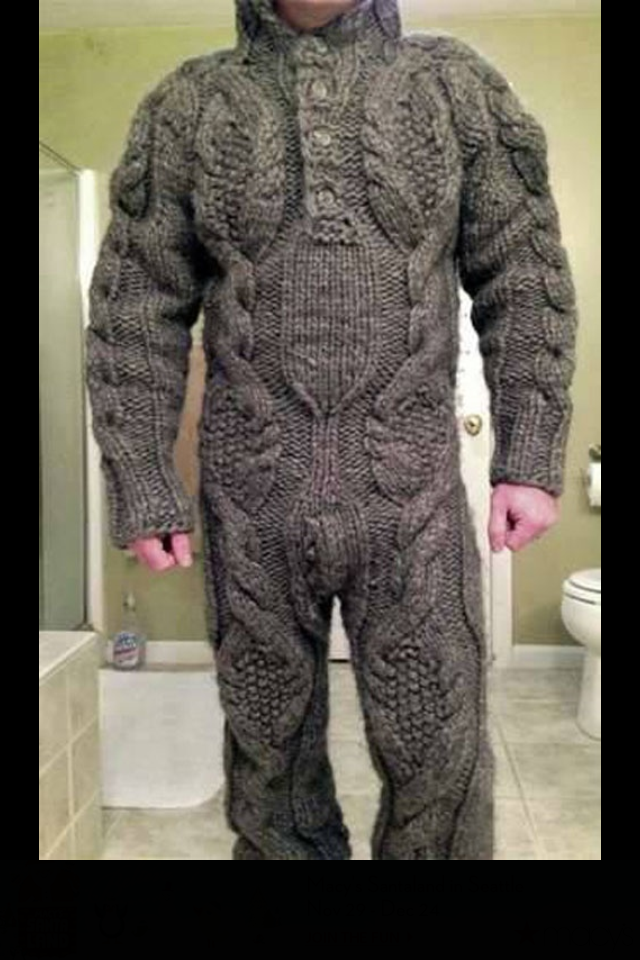 A good sweater is so comfortable. It's the next level snuggie.