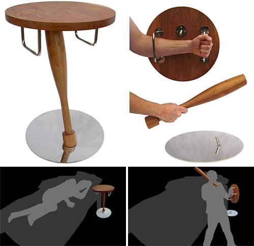 Every person has the right to protect themselves from intruders. All tables come with a kilt.