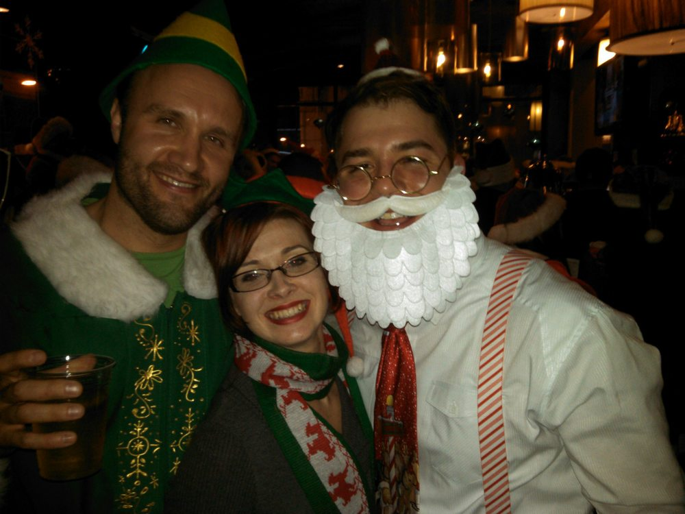 Happy Holidays from Seancon, Coach Beth and Jason L.