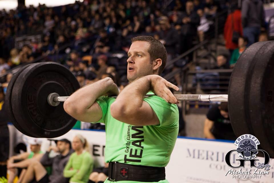 Coach Lance competing at the Gorilla Games