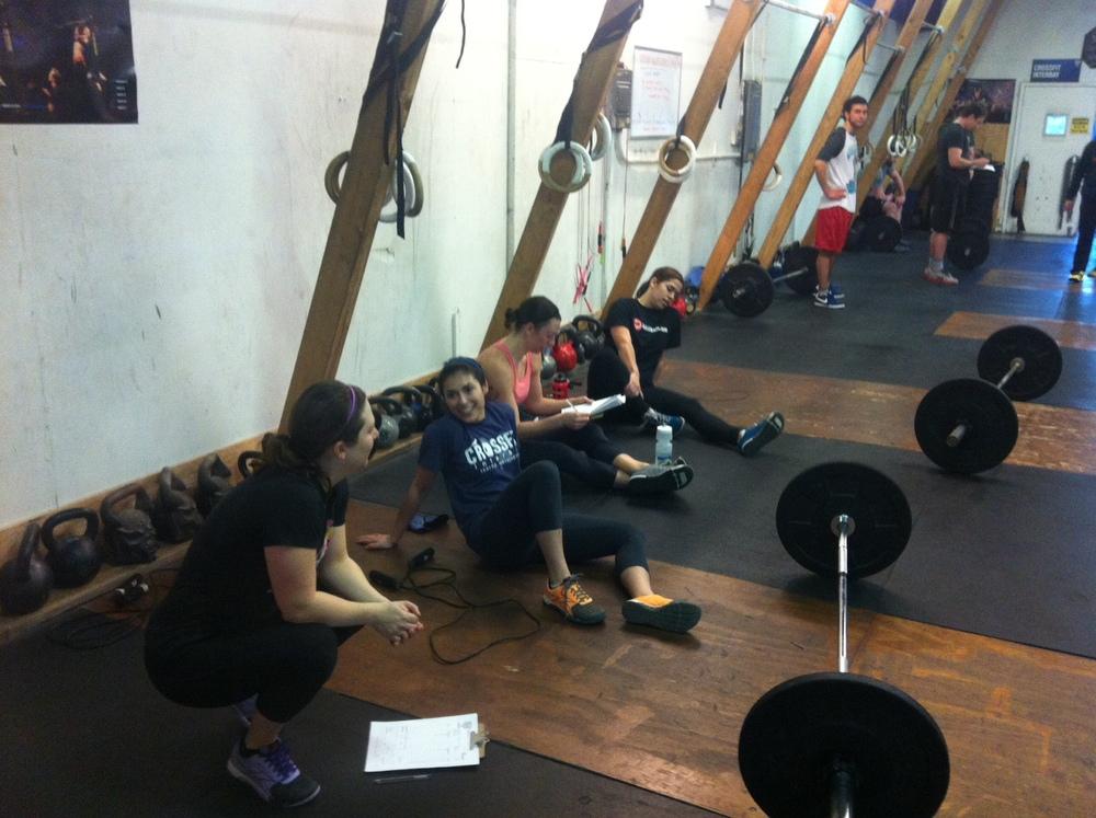 It's not a 6am CrossFit class, it's 6am social hour