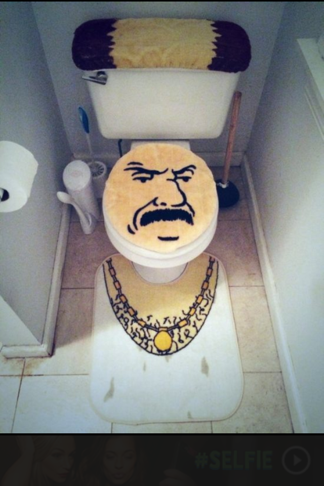 We need to decorate the CFIB Bathroom so I was thinking of getting this.