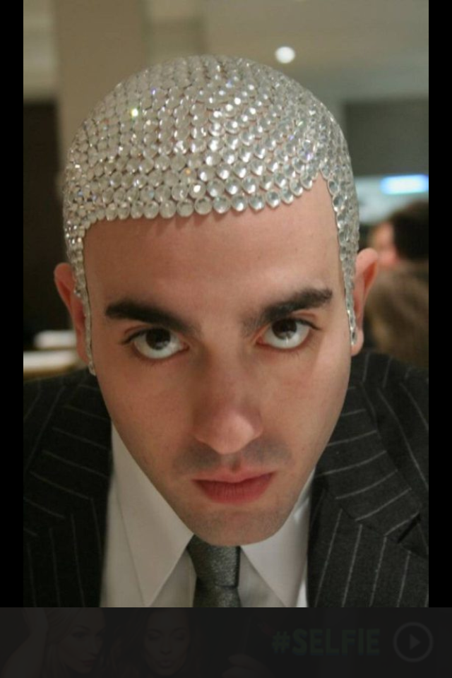 I need a formal head piece for when I'm going out to a nice dinner with Erin.  Throw a little bling in my outfit.