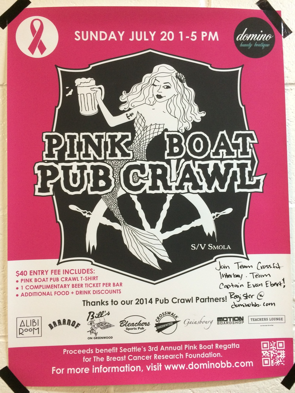 Sunday there is a pub crawl :-)