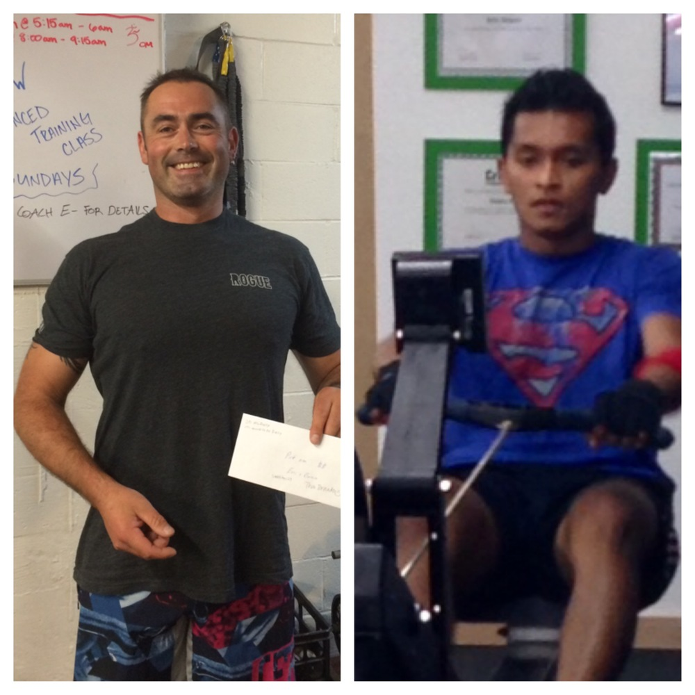 Look how happy Innes is and look how, welll............poor Raj