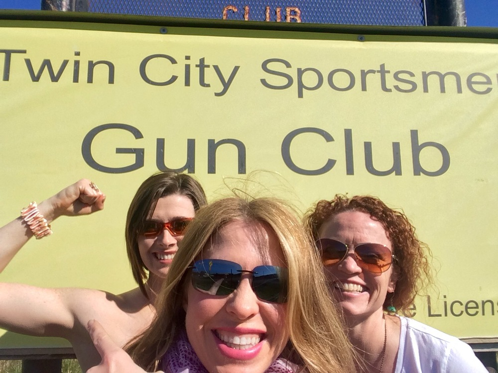 Team Will WOD for Wine showing the guns at Twin City Sportsman Club in Stanwood, WA 52 miles away.