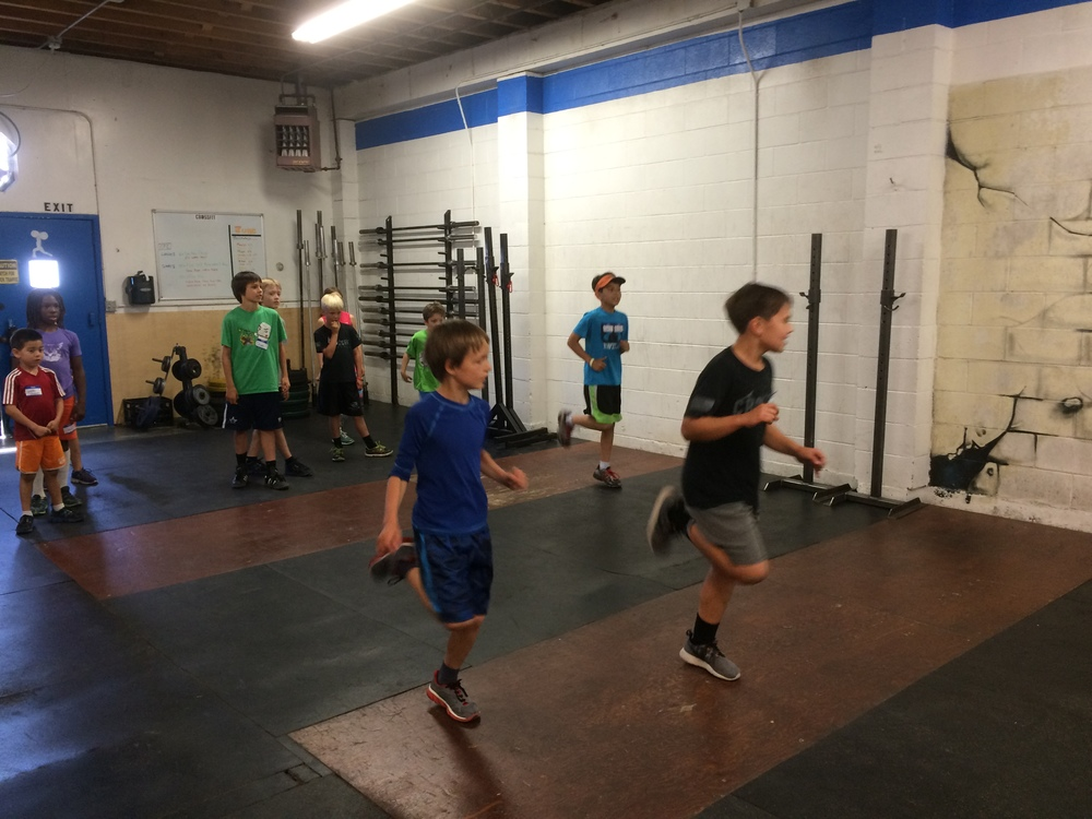 Kids camp going on this week. Start them young