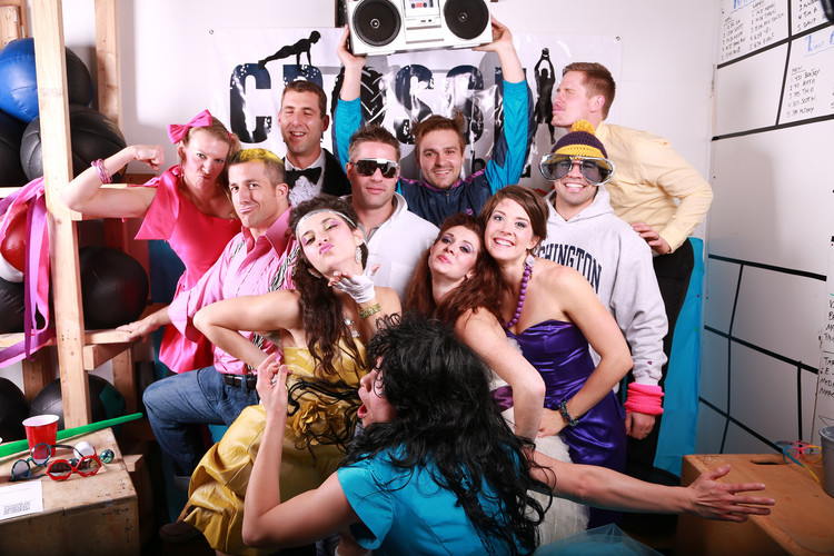 CFIB 2 Year Anniversary Party 80s Prom Theme