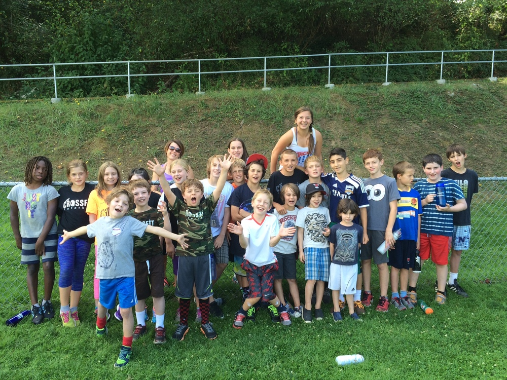 Yay Seattle kids are back in school. Here is a picture from one of our CFIB Kids Camps