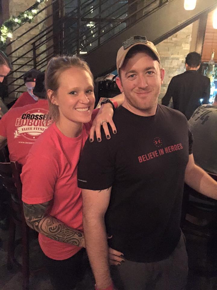 Coach Aleta and her fiance Kyle