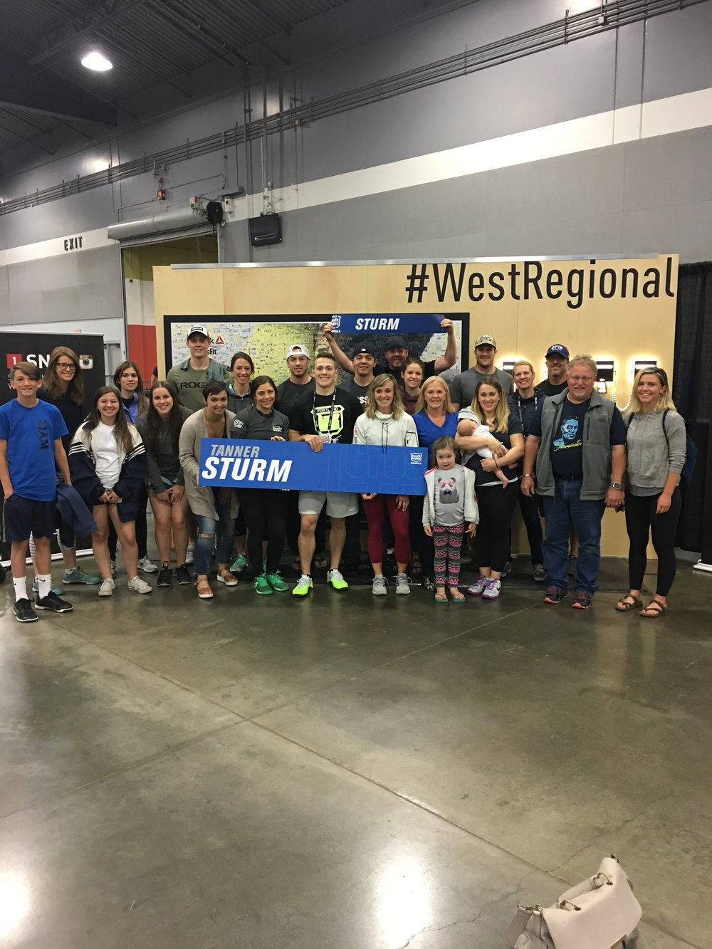 Some of the CFIB crew with Tanner and his family after Regional's. Many others were at regionals, I wish we were able to get a big group shot of everyone.