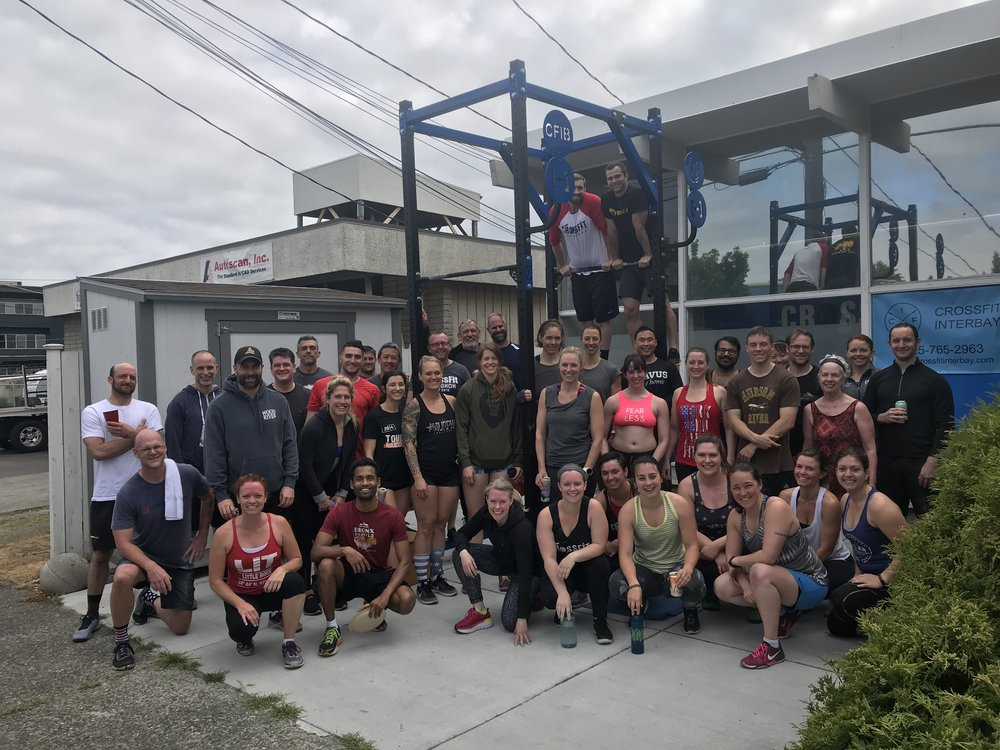 Great job to everyone who came out for Memorial Day Murph!