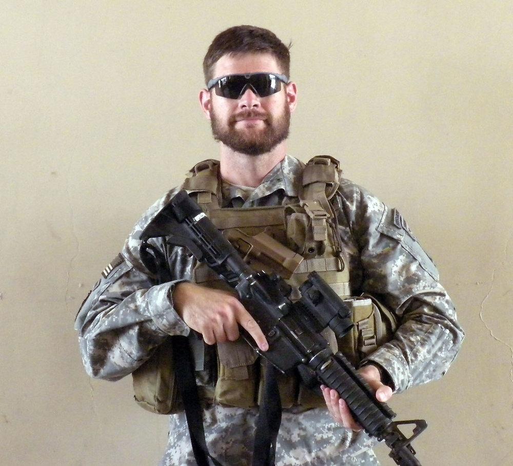 US Army Captain Jason Holbrook