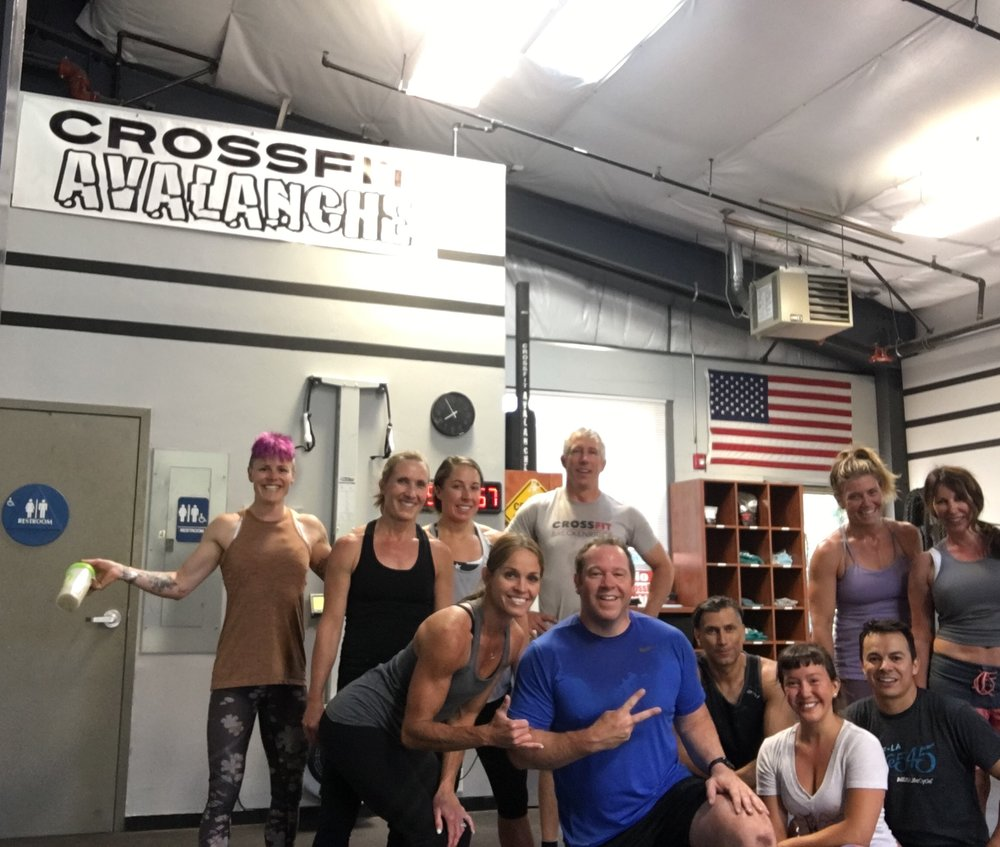 Jamison R. dropping in at CrossFit Avalanche in Tahoe! Working out at an elevation of 6,225 ft!