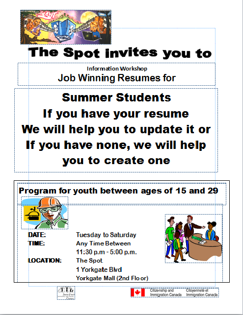 Resume Workshop The Spot