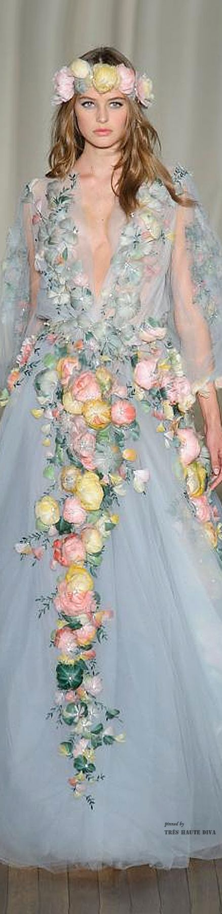 Marchesa Spring 2015 Source The Lane