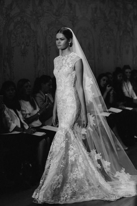 Monique Lhullier 2015 Bridal Collection Source the Lane