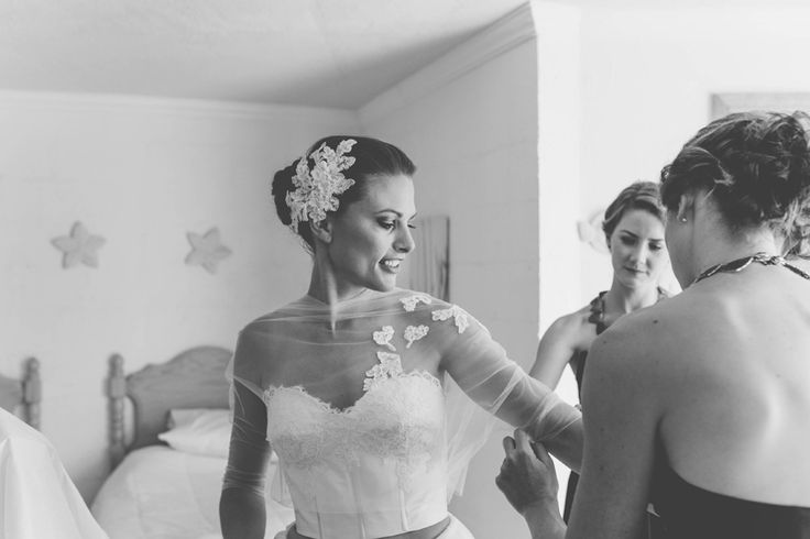 Louise - Toscano Bridal Customised Gown and headpiece  Edwina Roberson Photography