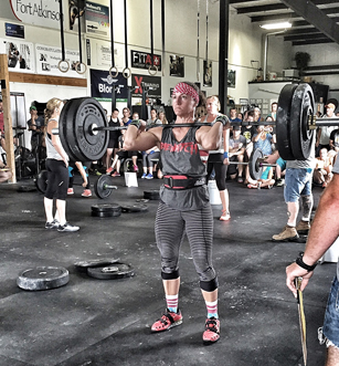 Alison lifting things
